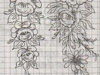 pattern stile bauernmalerei