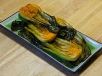 Grilled Bok Choy With Sweet Soy Glaze Recipe — Dishmaps