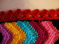 Granny squares, ripples, throws, pillow covers....you name it if it's crocheted I'm lovin' it.