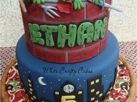 Cakes - Ninja Turtles