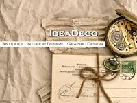 IDEADECO / IDEADECO Make Ideas Happen @ Art, Antiques, Graphic Design, Interior Design, Social Media, Web Design, Photography.