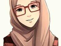 cartoon hijab