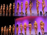 Figure Fitness Compitition Motivation