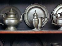 Pewter Dishes