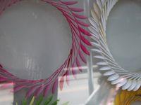 plastic spoon wreaths