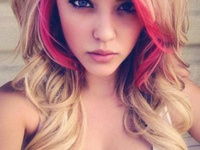 I have done a lot with my hair! Blonde, brown, black, red, pink and purple! I love hair!