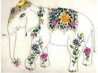 44 Best Images About Elephant Embroidery On Pinterest