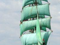 sailing ships and row boats