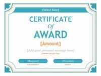 font for certificates