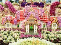 Thai Flower Arrangement and Thai Design