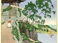 Shin Hanga / 外国人作家が主な対象。non-japanese, foreign artists