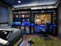 Teen Boy Gamer Bedroom,Corner Kitchen Cabinet With Glass Doors