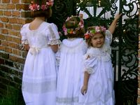 I love sewing Heirloom clothes for my grandchildren and others that I love.  I also make special Christening Dresses and Special Occasion clothes for children.  Email me if interested.  fanmurray@bellsouth.net