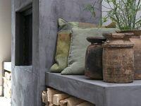 #10 / -Wit zwart hout, warm -Modern luxe warm met stoer verrassend element -Cosy