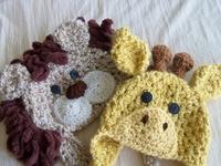 Crochet hats | Gehaakte mutsjes