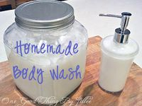 Homemade Soaps and Cleaners
