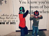 Mom of a boy