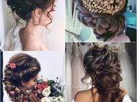 <b>Best</b> 81 Прически images on Pinterest | Wedding hairs, Bridal ...