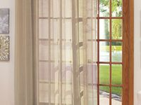 Best Images About Patio Door On Pinterest The Magic Curtain Rods