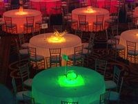 1000 images about party on pinterest water beads table linens and water beads centerpiece beautiful color table uplighting