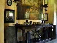 1000+ images about Long Narrow Desks on Pinterest   Home office desks
