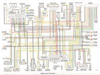 Suzuki T250 T350 R T500 Large Colour Wiring Diagrams Schema Electrique Electrique Schema