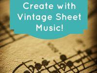 Upcycle sheet music