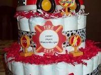 Fire Truck Baby Shower