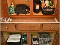 Bathroom/closet organization