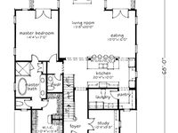 9 Best Images About Narrow Lot House Plans On Pinterest