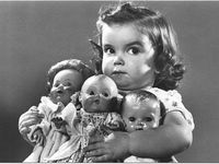 Dolls and bears