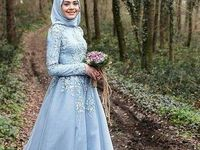 Muslim Bride dress