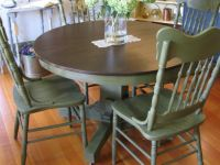 15 Best Images About Dining Table Redo On Pinterest Table And Chairs Black