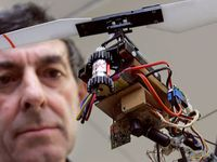 Drone - quadcopter - octocopter - iphone controled flying machine - quadricoptère - octocoptère -machine volante contrôlée par iphone