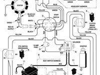 electrical diagram for john deere z445 bing images john deere rh pinterest com John Deere Z425 Fuel System John Deere Z445 Wiring-Diagram