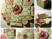 Craft Ideas - Exploding Boxes
