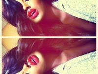 Dazzling Soharez: ~Kim Kardashian sensual red lipstick
