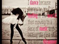 My life is dance I've been dancing with my bestfriend since we were 7 years and never stopped then and not going to stop know :)