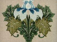 Embroidery Crewel, Jacobean Work, Needlepaint Work....