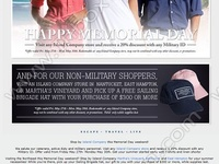 memorial day newsletter ideas