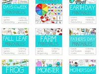 Preschool activities/ printables