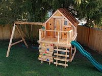 Swing Sets For Hubby to make The Grandkids