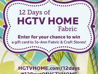 12 Days of HGTV HOME Fabric