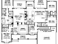 Cottage: Floor Plans