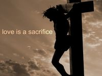 "JESUS said ""If anyone would come after ME, he must deny himself and take up his CROSS daily and follow me (Luke 9:23)"