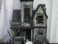 1000 Images About Miniature Haunted Houses On Pinterest