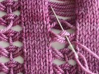 STICHES knitted
