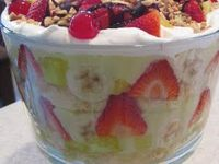 On Pinterest Blueberry Trifle Angel Food Cake And Banana Pudding