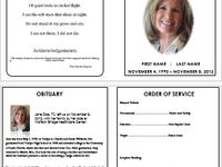 Cards, Funeral Templates, & Programs