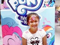 face Painting little PONY